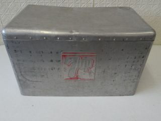 METAL VINTAGE 7 UP 7UP COOLER ICE CHEST SODA CRONSTROMS