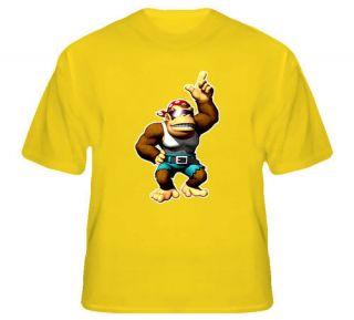 Funky Kong Donkey Kong Video Game T Shirt