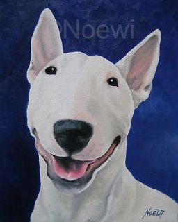 UNCONDITIONAL original oil painting NOEWI dog puppy English Bull