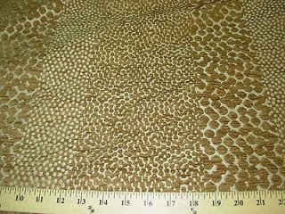 YDS~LEOPARD SPOTS ~PART CHENILLE UPHOLSTERY FABRIC~FABRIC FOR