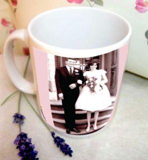 Ruby Wedding Anniversary  Mug  40th Wedding Anniversary Gift
