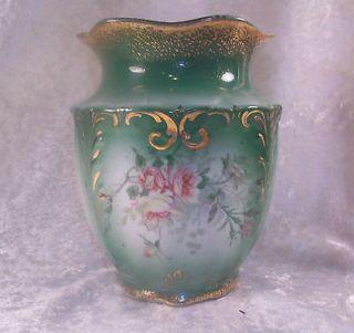 Vintage Knowles Taylor Knowles KTK Semi Vitreous Porcelain Floral Vase