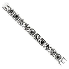 Sterling Expressions Ten Commandments 7.25in Bracelet