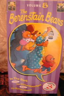 The Berenstain Bears In The Dark~Wicked Weasel~Mystery Mansion NEW