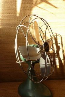 LE JOHN * RARE * Antique Vintage Deco Retro Old Electric Desk FAN