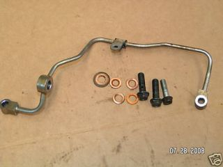 HONDA NX250 NX 250 MOTORCYCLE ENGINE OIL PIPE LINE 90