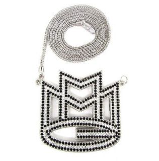 ICED OUT MAYBACH MMG PENDANT w/ 30 & 36 NECKLACE RICK ROSS CHAIN HIP