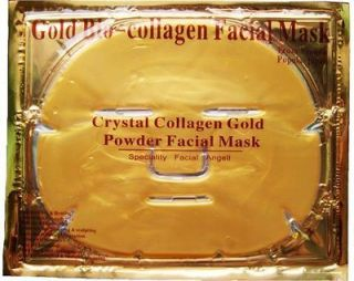 Gold Bio Collagen Crystal Face Mask, Anti ageing Skin Care