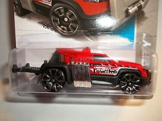 Newly listed Hot Wheels REPO DUTY Tow truck red paint 2013