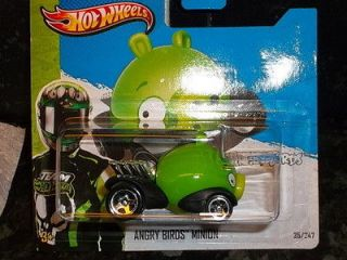 Hot Wheels Team 2012 Imagination #35 ANGRY BIRDS MINION PIG New Short
