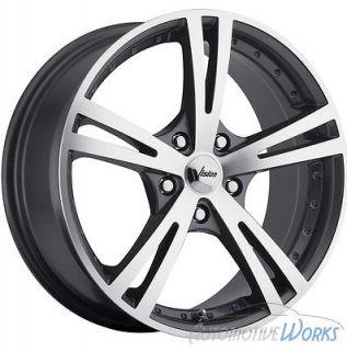 16x7.5 Vision Xcite 5x105 +34mm Gun Metal Wheels Rims Inch 16