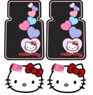 Hello Kitty Car Truck 4 pcs. Floor Mats Set