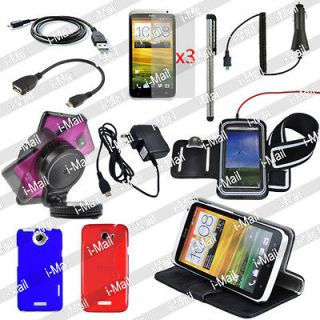 Newly listed 13in1 Pack Case Cover OTG Car Holder Charger Armband Film
