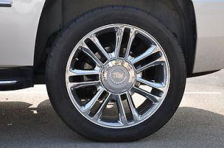 Cadillac Escalade Platinum Wheels Tires 285 Silverado Tahoe Yukon Sub