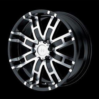 17 inch Black Truck Wheels Rims 8 Lug Ford F F250 F350 8 x 6.5 SET of