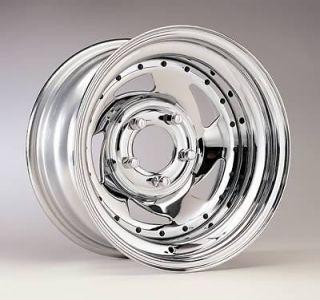 Wheel 26 Series Chrome Blade Wheel 15x10 6x5.5 BC Set of 2