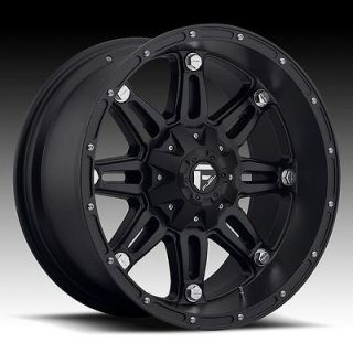 inch 18x12 Fuel Off Road Hostage black wheel rim 6x5.5 Lifted Escalade
