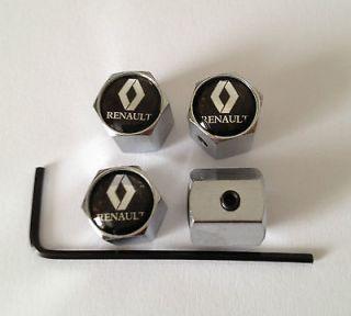 Newly listed RENAULT LOCKING WHEEL VALVE DUST CAPS MEGANE CLIO TWINGO