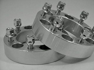 2pc HUMMER H3 WHEEL ADAPTER SPACERS FREE LUGS 2.00 Inch