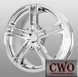 15 Chrome Verde Protocol Wheels 4x100/4x114.3 4 Lug Civic Integra