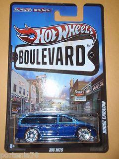 Hot Wheels Boulevard Dodge Caravan Big Hits
