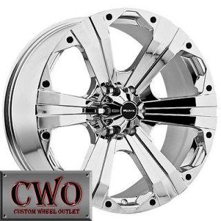 Newly listed 20 Chrome Ballistic Outlaw Wheels Rims 5x150 5 Lug Toyota
