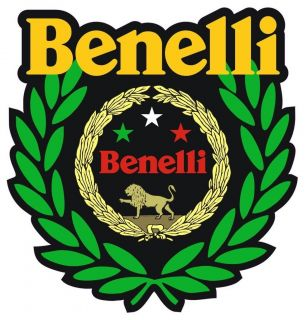 BENELLI WINNER MOTORCYCLE HELMET STICKER