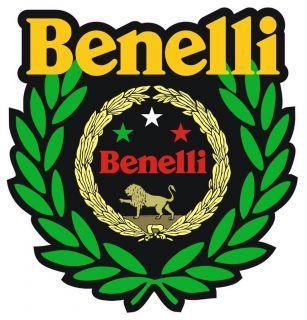 BENELLI WINNER MOTORCYCLE HELMET STICKER