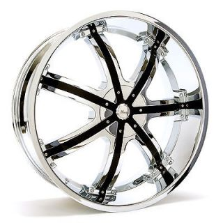 26 INCH RIMS AND TIRES WHEELS CAPRICE CADDY BLADES 357