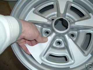 "Pontiac Firebird Rally II Wheel Paint Stencil Kit for 14"" rim"
