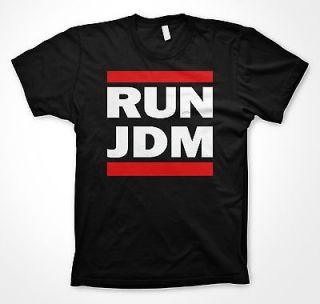 Run JDM tshirt funny Honda racing shirt run dmc shirt