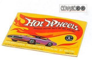 VINTAGE 60s Hot Wheels Redline INTERNATIONAL COLLECTORs CATALOG SUPER