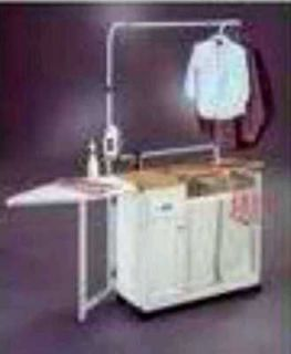 Rolling Laundry Cart with Ironing Board