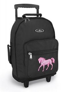 CUTE HORSE Rolling Backpack SCHOOL BAGS with Wheels