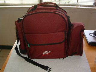 NEW DR. PEPPER COLLECTIBLE INSULATED COOLER PICNIC BASKET BACKPACK