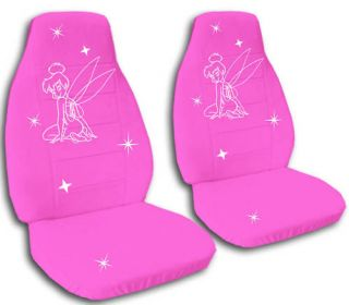 NICE SET TINKERBELL CAR SEAT COVERS 12 COLORS TO CHOOSE