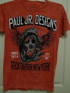 PAUL JR DESIGNS T SHIRT, MOTORCYCLE, CHOPPER, BIKER, OCC, ANTI VENOM