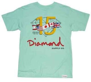 Diamond Supply Co. 15 Years Tee (Diamond Blue)