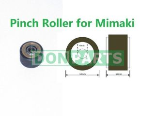 Pinch Roller for Mimaki Plotter ~4mm inner diameter