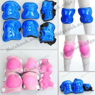 Kid Knee/Elbow/Wri st Guard Protective Pads Cycling Roller Ski Skating