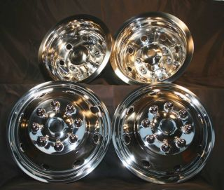 92 07 16 Ford E350 E450 Motorhome Dually Wheel Covers