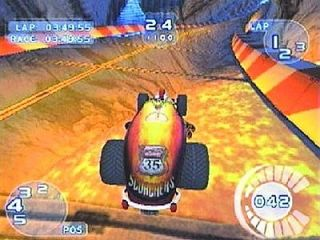 Hot Wheels World Race Nintendo GameCube, 2003