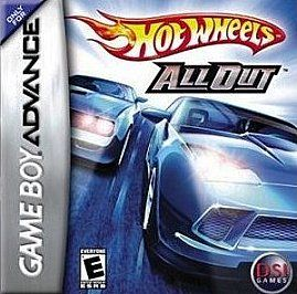 Hot Wheels All Out Nintendo Game Boy Advance, 2006