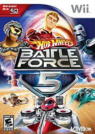 Hot Wheels Battle Force 5 Wii, 2009