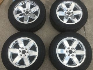 2013 20 Wheels Rims and Tires GMC Chevy Tahoe Yukon Denali Avalanche