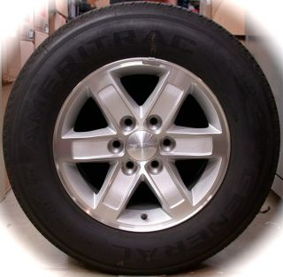 New 2013 GMC Sierra Savana 17 Factory Wheels Rims Tires Silverado