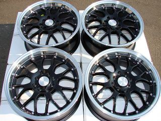 16x7 New Racing Wheels Rims Accord Civic Rio 5 Miata Cooper Acura CL