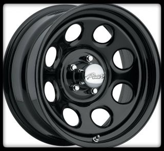 297B Soft 8 5x4 5 Jeep Wrangler Ford Explorer Black Wheels Rims