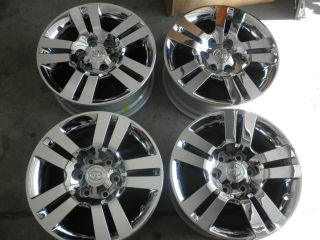 2012 Toyota 4Runner 18 Factory Chrome Clad Alloy Wheels 2006 2012