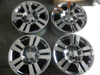 2012 Toyota 4Runner 18 Factory Chrome Clad Alloy Wheels 2006 2012